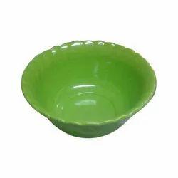 Melamine Green Bowl