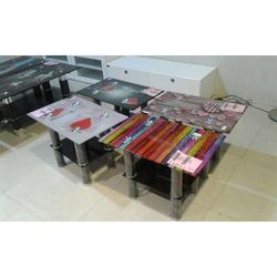 Rectangular Glass Top Center Table for Home