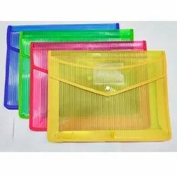 Hazy Line Button File Folder