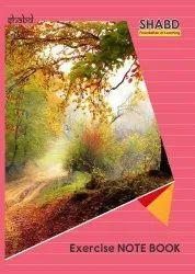 Single Line A4 Semi Rough Note Book, 150