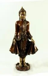 Capstona Buddha Brass Metal Idol