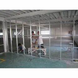 Aluminium Office Partition Service