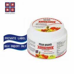 OEM or Private Label Fruit Scrub