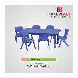 Rectangle School  Table