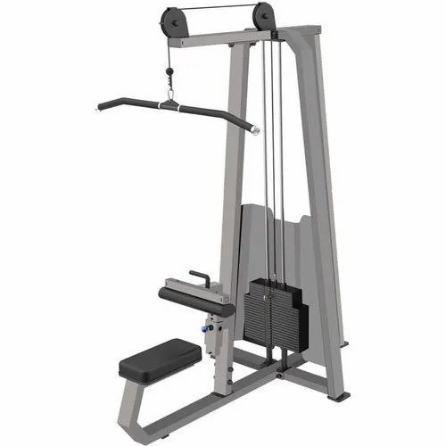Polished Gym Lat Pull Down