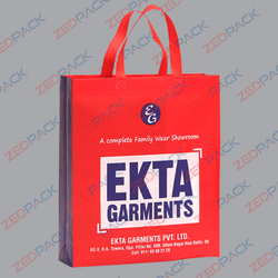 Zedpack Printed Shopping Bag