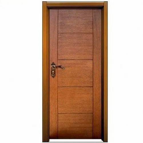 Unatti Brown Wooden Bathroom Door Rs, Wooden Bathroom Doors