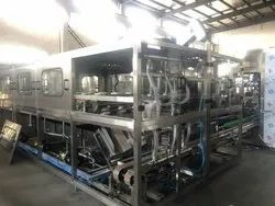 600 JPH Jar Washing Filling Capping Machine