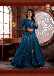 Divine Vol 2 By Kiana House Of Fashion 3 Piece Concept Kurti Diwali Special