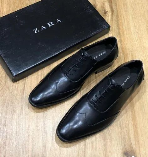 Zara Men's Leather Formals Shoes, Size
