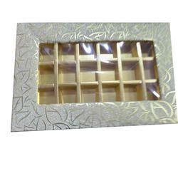 Cardboard Wedding Favours Chocolate Box