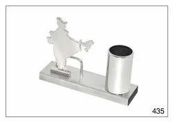 ZEGAR Custom-Made Indian Map Pen stand