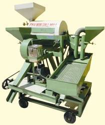 Mini Dal Mill 3 H.P Air Aspirator with Cyclone
