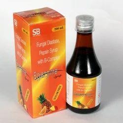 Fungal Diastase (1:1200) Pepsin (1:3000) Syrup