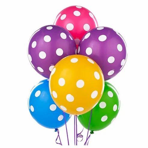 Assorted Polka Balloons