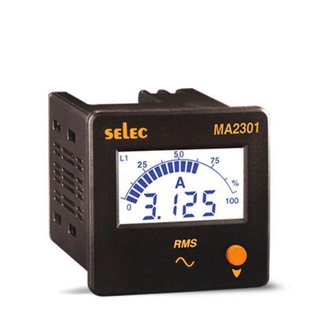 MA2301 Ammeter | Selec Controls Pvt  Ltd  | Manufacturer in