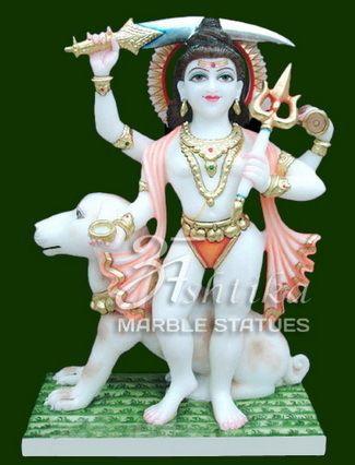 Marble Bhairav Murti