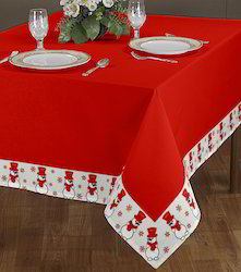 Christmas Border Printed Table Cloth