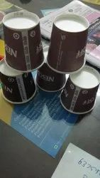 Brown Paper Cup, For drink, Capacity: 150 ML