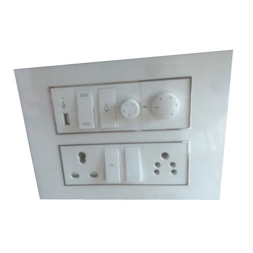 white electrical switchboard, for electrical fitting, rs 15 piecewhite electrical switchboard, for electrical fitting