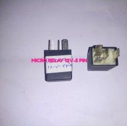 Micro Relay 5 Pin 12v