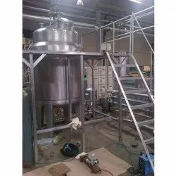 Stainless Steel Sugar Syrup System