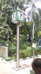Outdoor Pillar Clocks