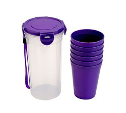 Tumbler Container With Tumbler