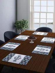 Romee Ethnic Printed Cotton Dining Table Mats Placemats Set Of 6 43 Cm X 32 Cm At Rs 525 Set Luncheon Mat ट बल म ट Romee Internatiional Llp New Delhi Id 21597750255