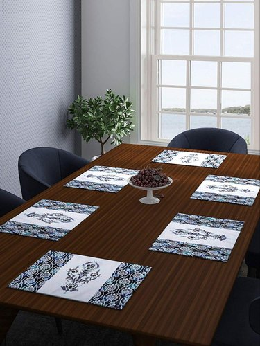 Printed Cotton Dining Table Mats