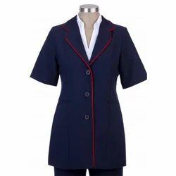 DR Apron Lab Coat Doctor Coat Supervisor Short Sleeve Coat