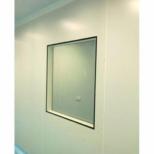 Glass Laboratory Clean Room Window