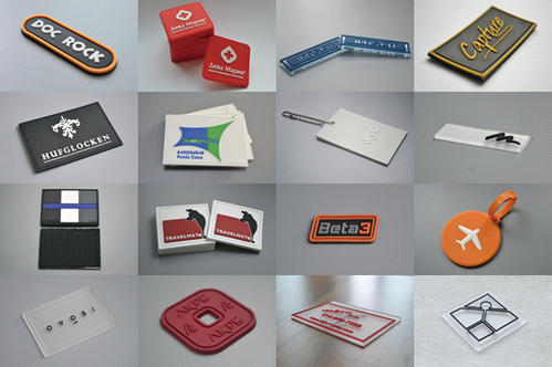 Silicone Rubber Bag Labels