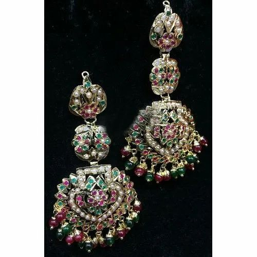 Drop Earrings Ladies Party Wear Earring