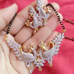 Wedding Pendant Manglasutra with Chain
