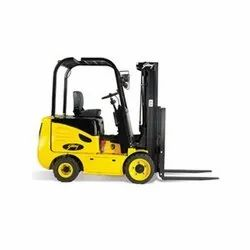 Reconditioned 4 Wheel Godrej Electric Forklift