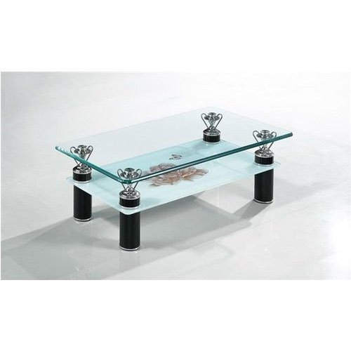 Modern Glass Center Table Center Table Heena Steel Furniture