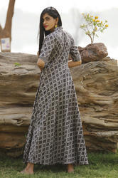 Printed Long Designer Wear Kurti