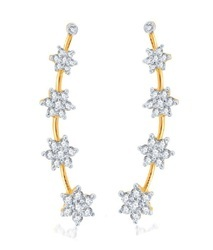 American Diamond Ear Cuffs