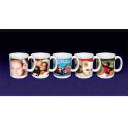 Sublimation White Printed Mugs