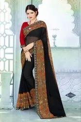 Catlog Printed saree