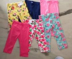 Printed Non Stretchable Kids Boys N Girls Shorts, Pants, Jeans, Capris, Dry clean