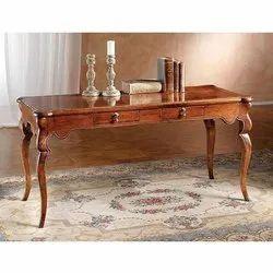 Star Teakwood Rectangular Wooden Table