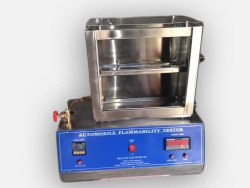 horizontal flammability tester