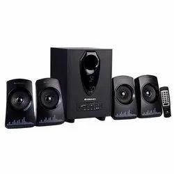 Black Zebronics ZEB-Feel 4.1 Multimedia Speaker