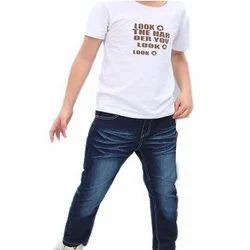 Kids Denim Blue Stylish Jeans