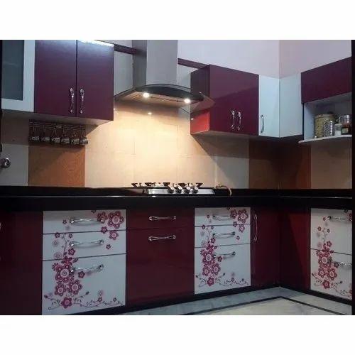 Printed L Shaped Acrylic Modular Kitchen Acrylic Kitchen Cabinet High Gloss Kitchen Cabinet À¤à¤• À¤° À¤² À¤• À¤® À¤¡ À¤¯ À¤²à¤° À¤• À¤šà¤¨ Kitchen Creations Jaipur Id 20680601497