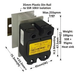 25 AMP DC TO DC SOLID STATE RELAY