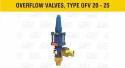 Ammonia Overflow Valves