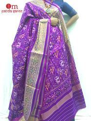 Single Ikat Patola Dupatta